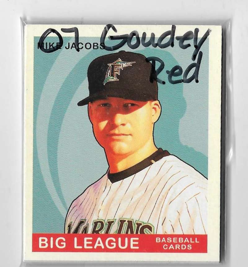 2007 Goudey Red Backs - FLORIDA MARLINS Team Set