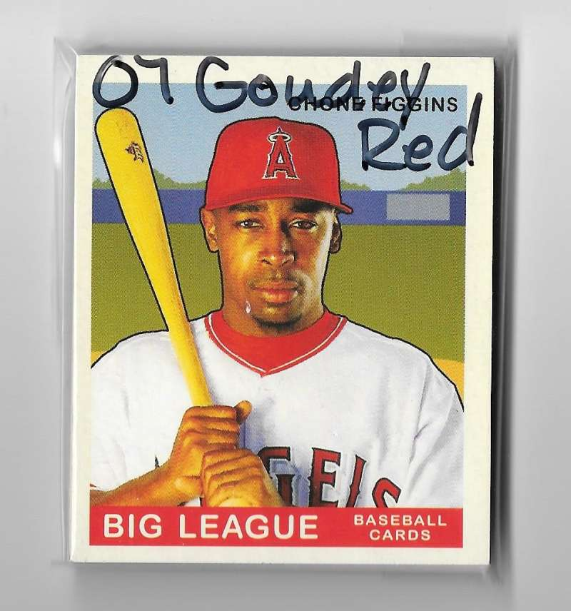 2007 Goudey Red Backs - LOS ANGELES ANGELS Team Set