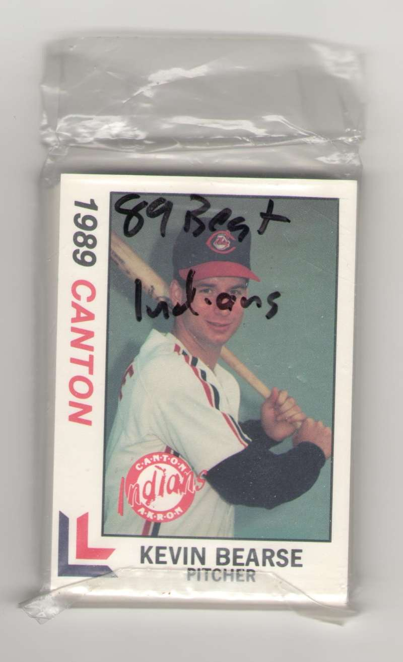 1989 Best Minor League Team Set Canton-Akron Indians