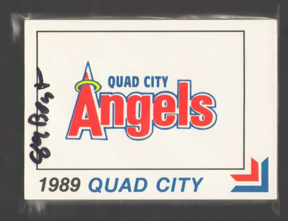 1989 Best Minor League Team Set Quad City ANGELS (Jim Edmonds)
