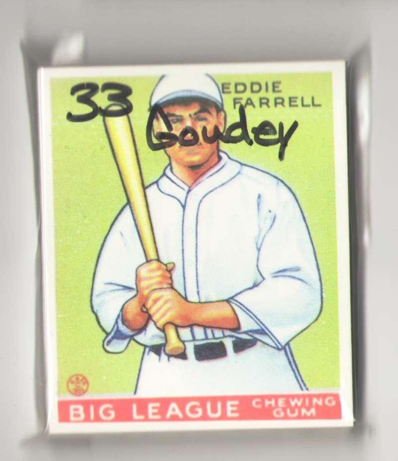 1933 Goudey Reprints - NEW YORK YANKEES Team Set