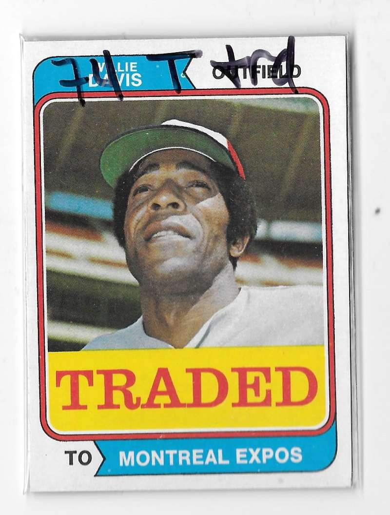 1974 TOPPS TRADED - MONTREAL EXPOS