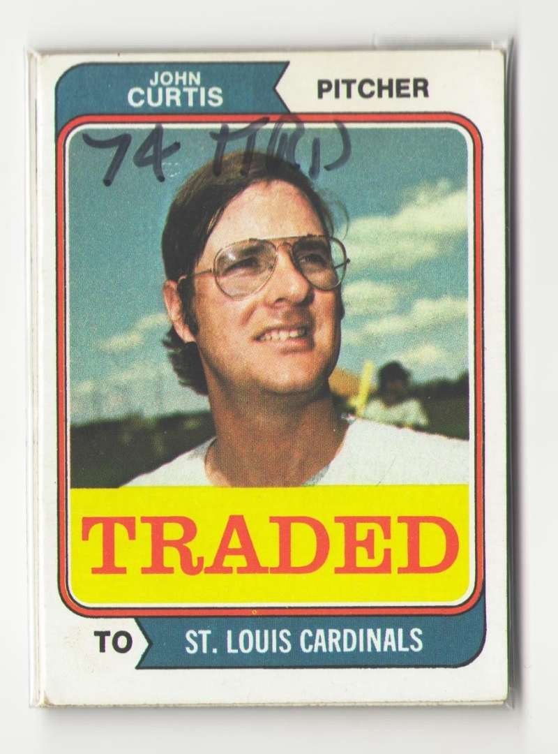 1974 TOPPS TRADED - ST LOUIS CARDINALS Team Set
