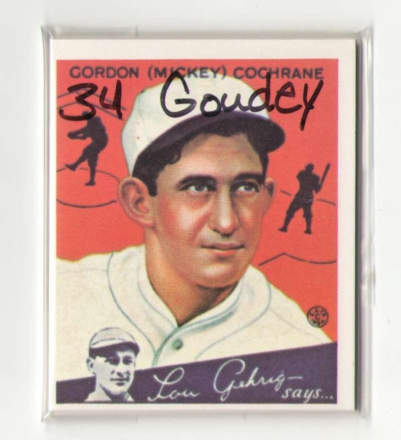 1934 Goudey Reprints - DETROIT TIGERS Team Set