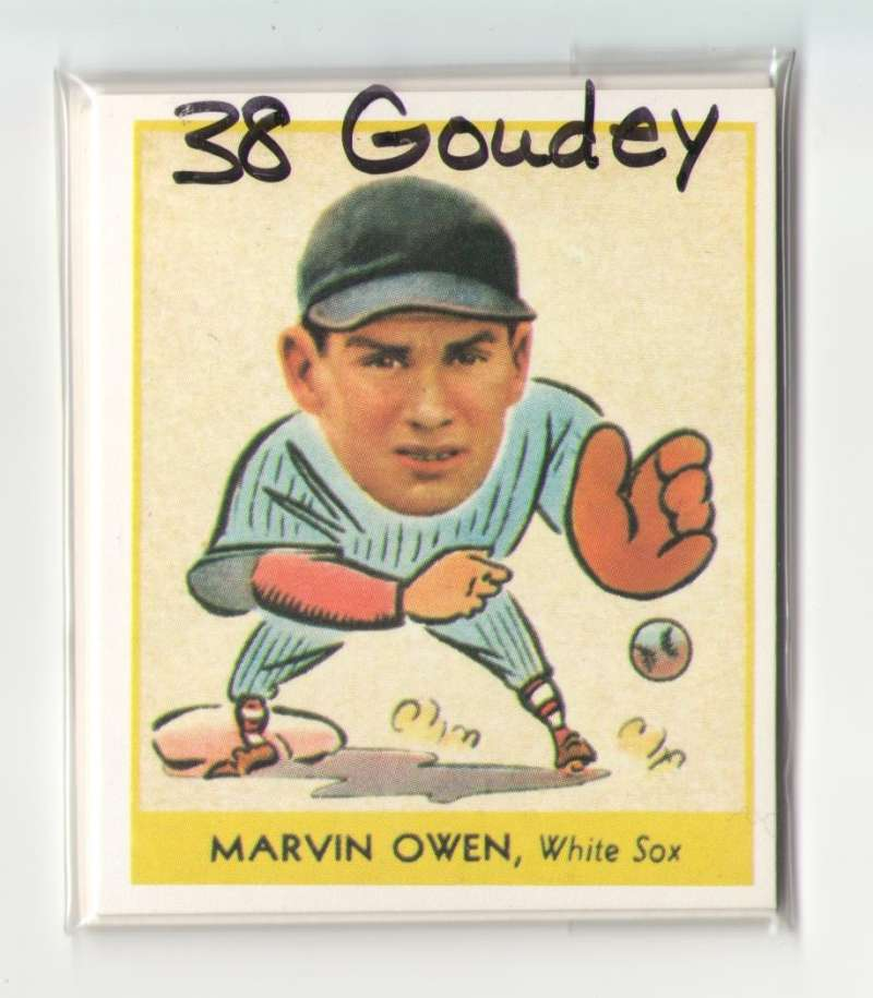 1938 Goudey Heads Up Reprints - CHICAGO WHITE SOX Team Set