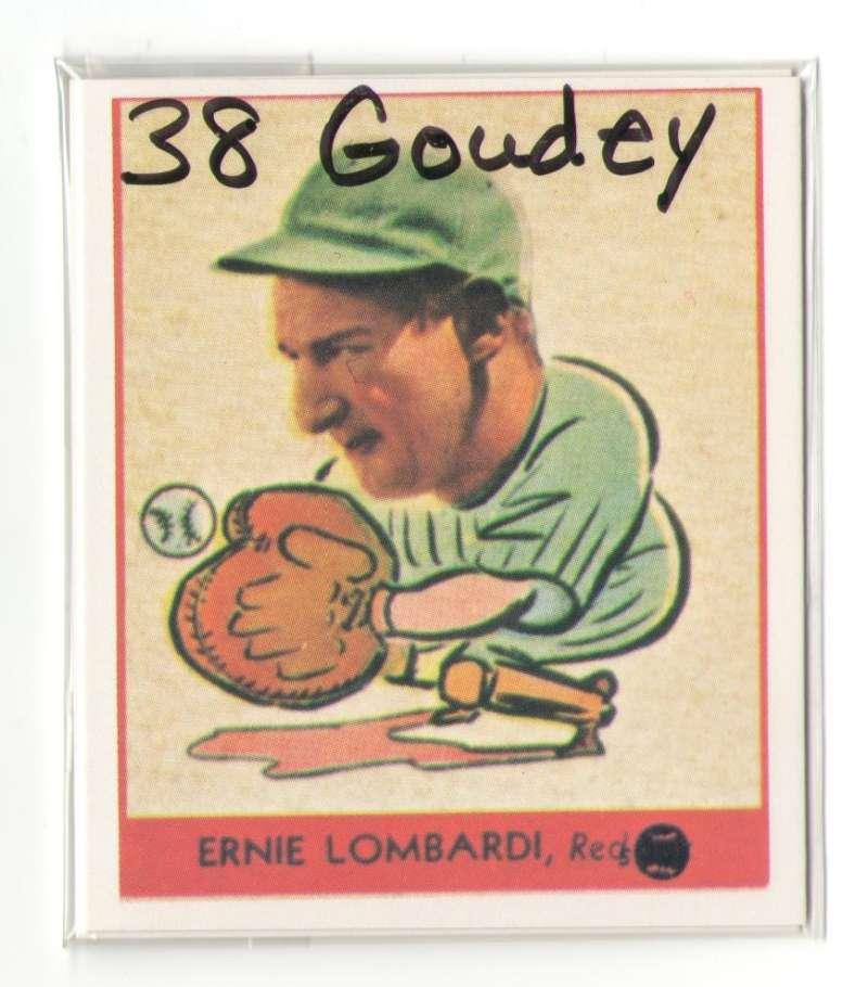 1938 Goudey Heads Up Reprints - CINCINNATI REDS Team Set