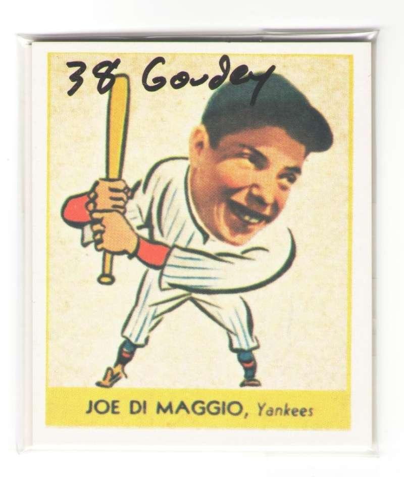 1938 Goudey Heads Up Reprints - NEW YORK YANKEES Team Set