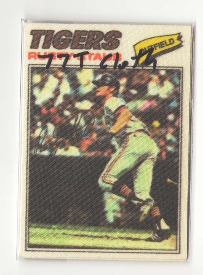 1977 Topps Cloth Stickers - DETROIT TIGERS Team Set