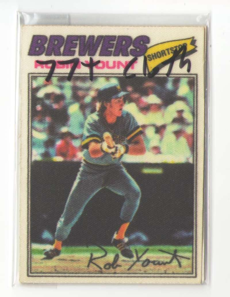 1977 Topps Cloth Stickers - MILWAUKEE BREWERS Team Set