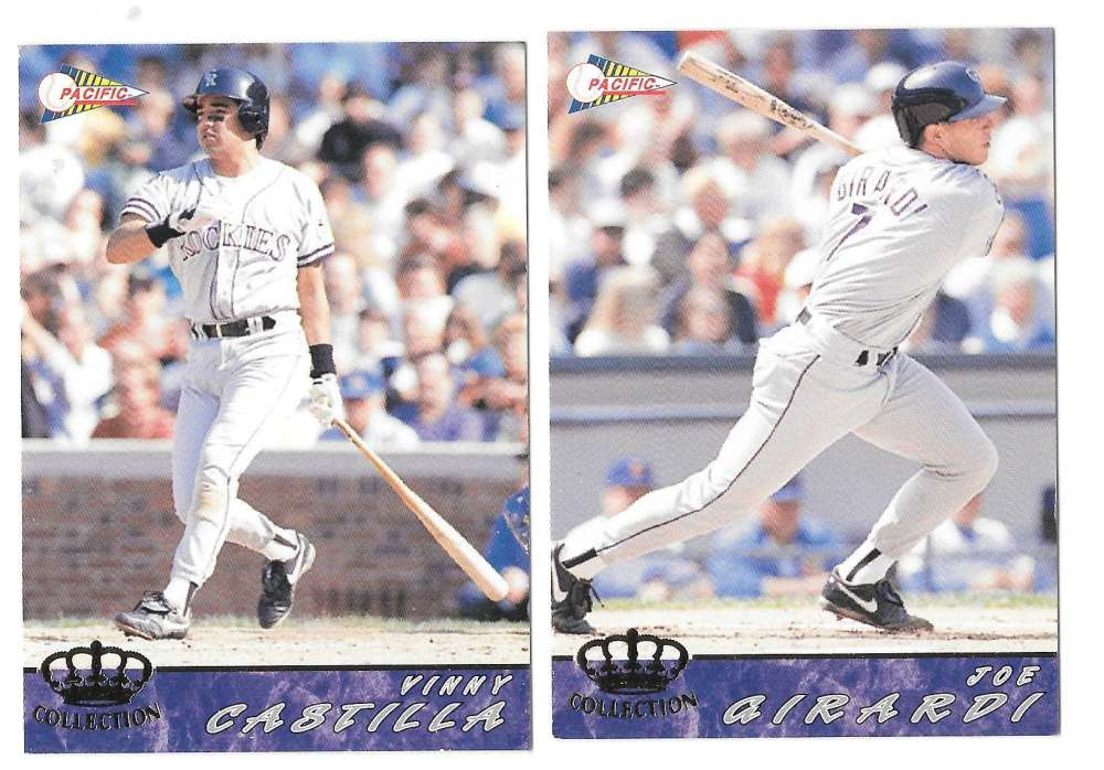 1994 Pacific - COLORADO ROCKIES Team Set