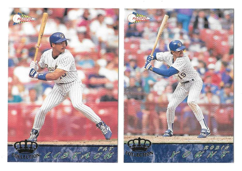 1994 Pacific - MILWAUKEE BREWERS Team Set