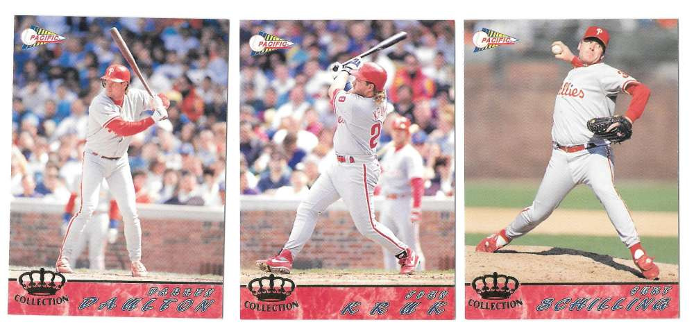 1994 Pacific - PHILADELPHIA PHILLIES Team Set