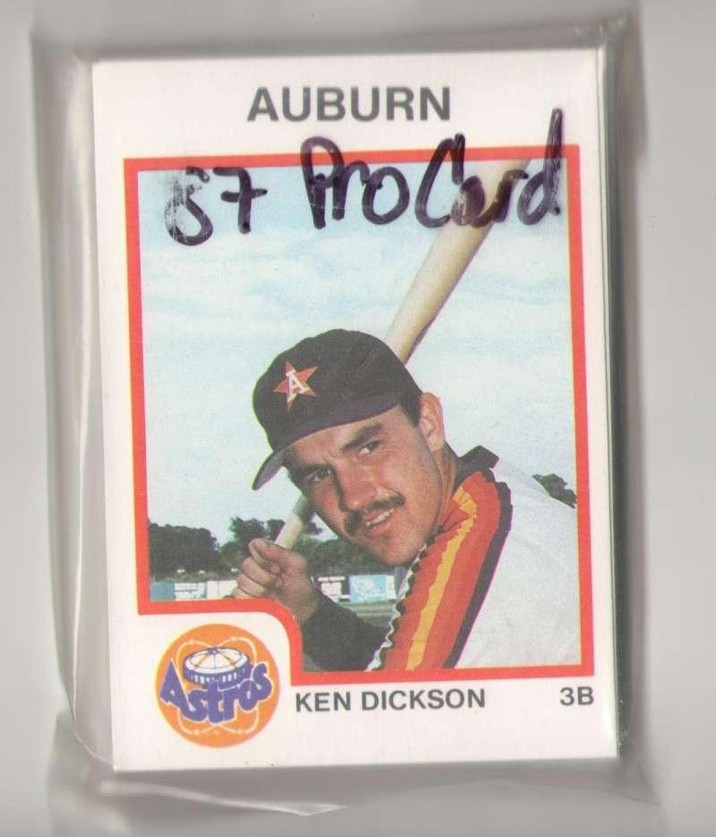 1987 ProCards Minor League Team Set - Auburn ASTROS