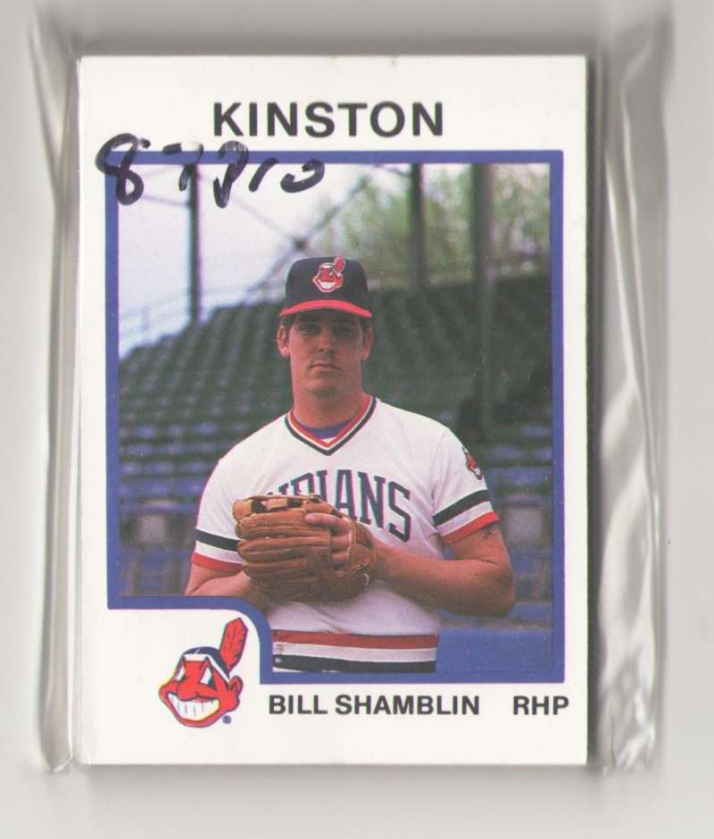 1987 ProCards Minor League Team Set - Kinston INDIANS