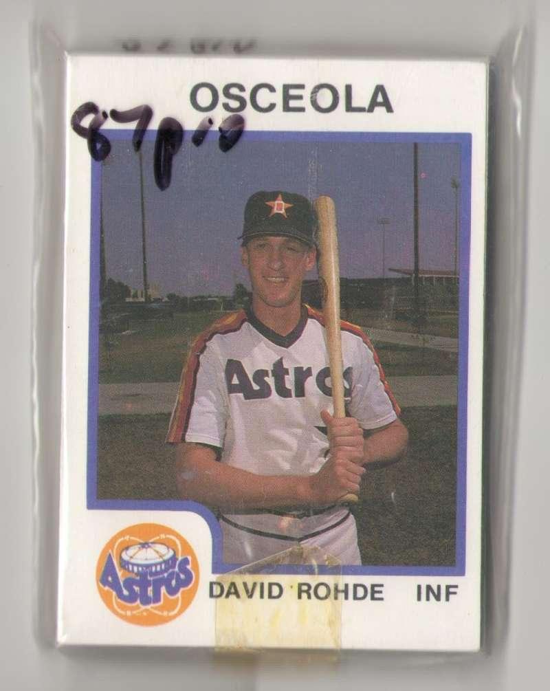 1987 ProCards Minor League Team Set - Osceola ASTROS