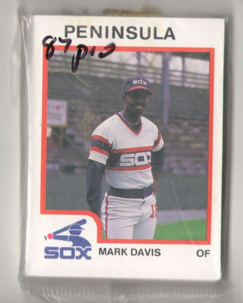 1987 ProCards Minor League Team Set - Peninsula WHITE SOX