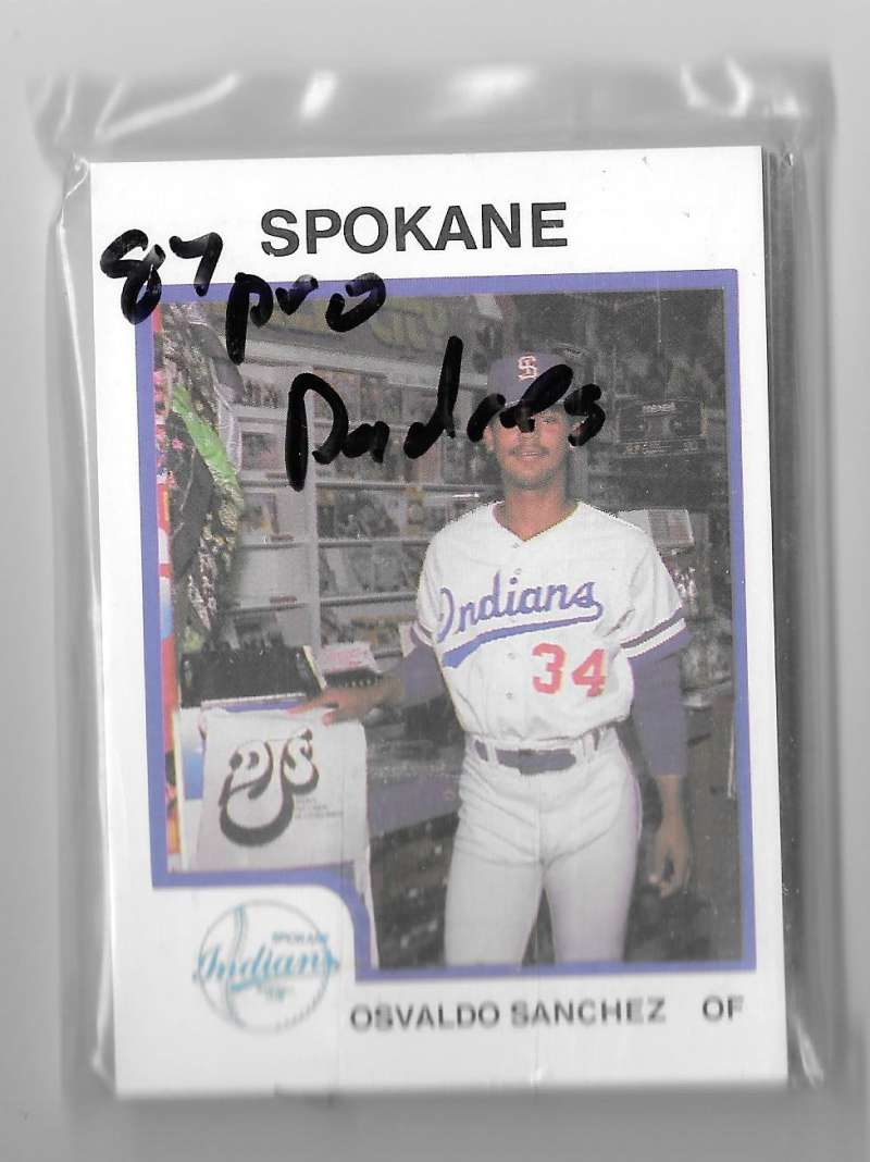 1987 ProCards Minor League Team Set - Spokane Indians (Padres)