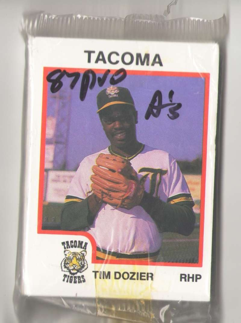 1987 ProCards Minor League Team Set - Tacoma TIGERS (As)