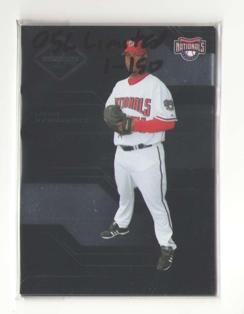 2005 Leaf Limited (1-150) (#ed out of 699) - WASHINGTON NATIONALS Team Set