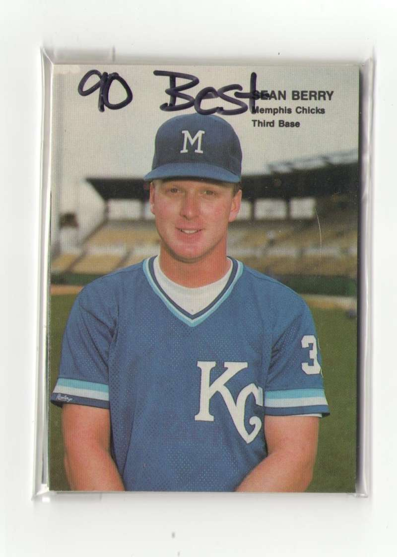 1990 Best (Minors) - KANSAS CITY ROYALS Team Set