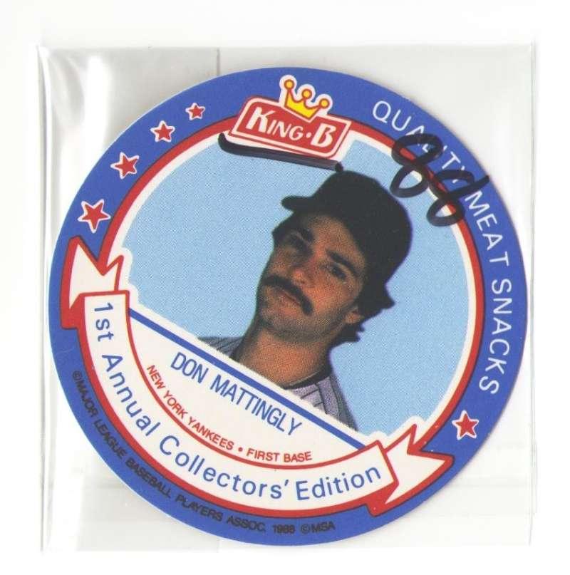 1988 King-B Discs - NEW YORK YANKEES