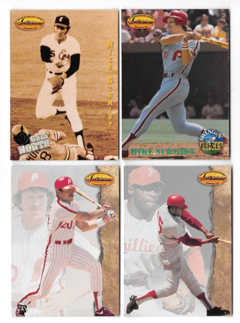 1994 Ted Williams - PHILADELPHIA PHILLIES Team Set