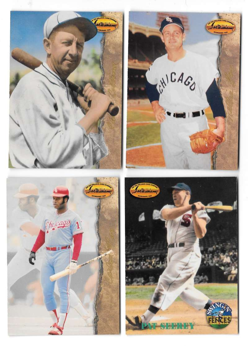 1994 Ted Williams - CHICAGO WHITE SOX Team Set