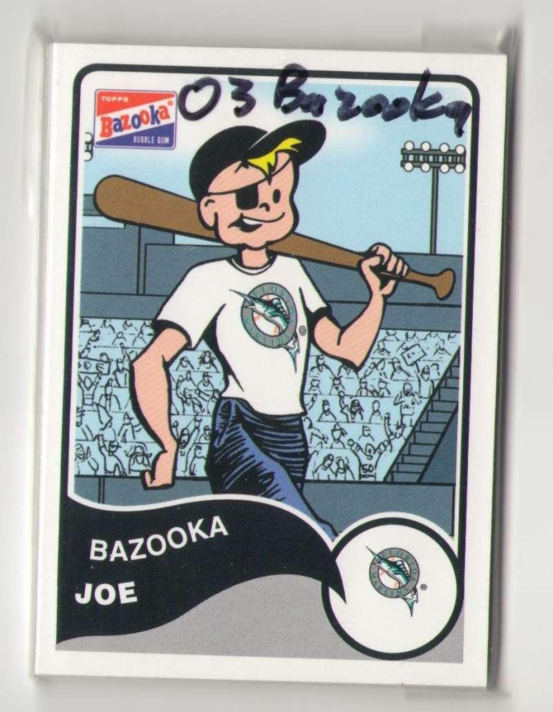 2003 Bazooka - FLORIDA MARLINS Team Set