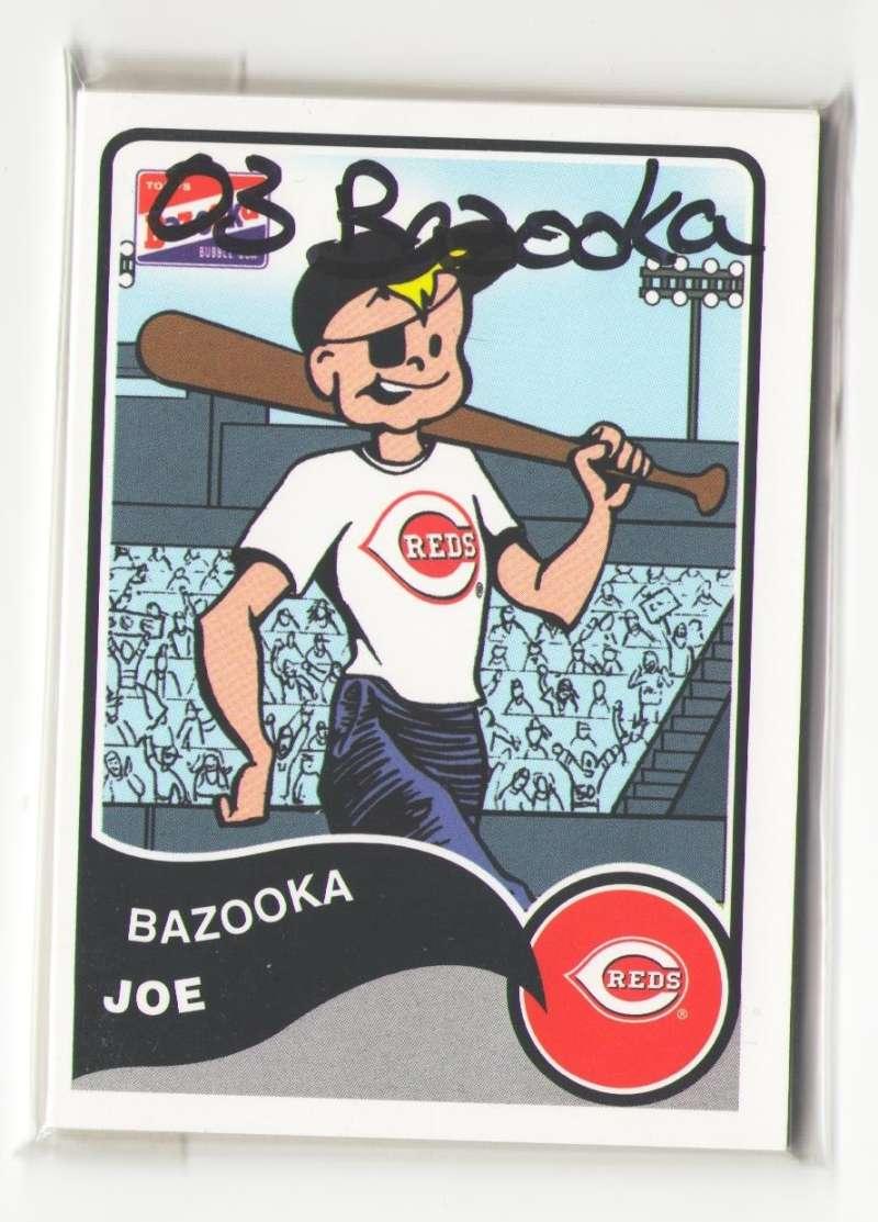 2003 Bazooka - CINCINNATI REDS Team Set