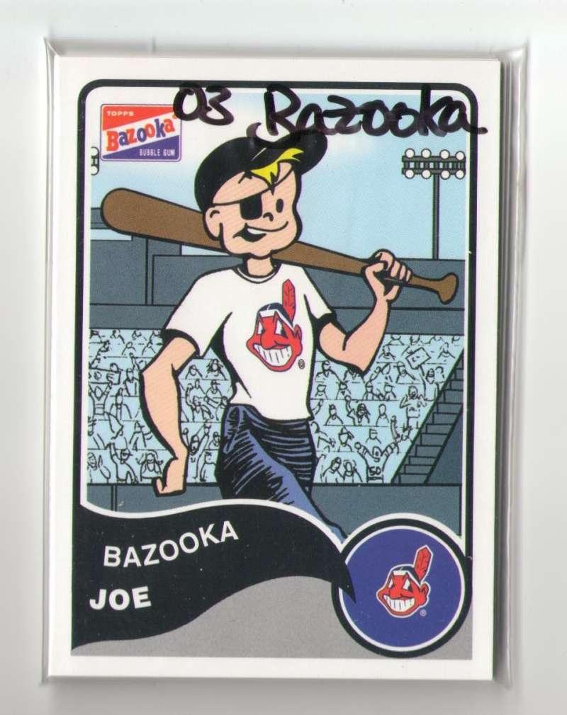 2003 Bazooka - CLEVELAND INDIANS Team Set