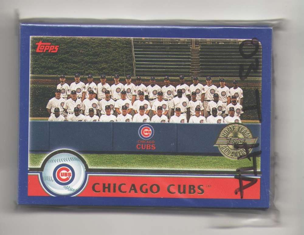 2003 Topps Home Team Advantage (HTA) - CHICAGO CUBS Team Set