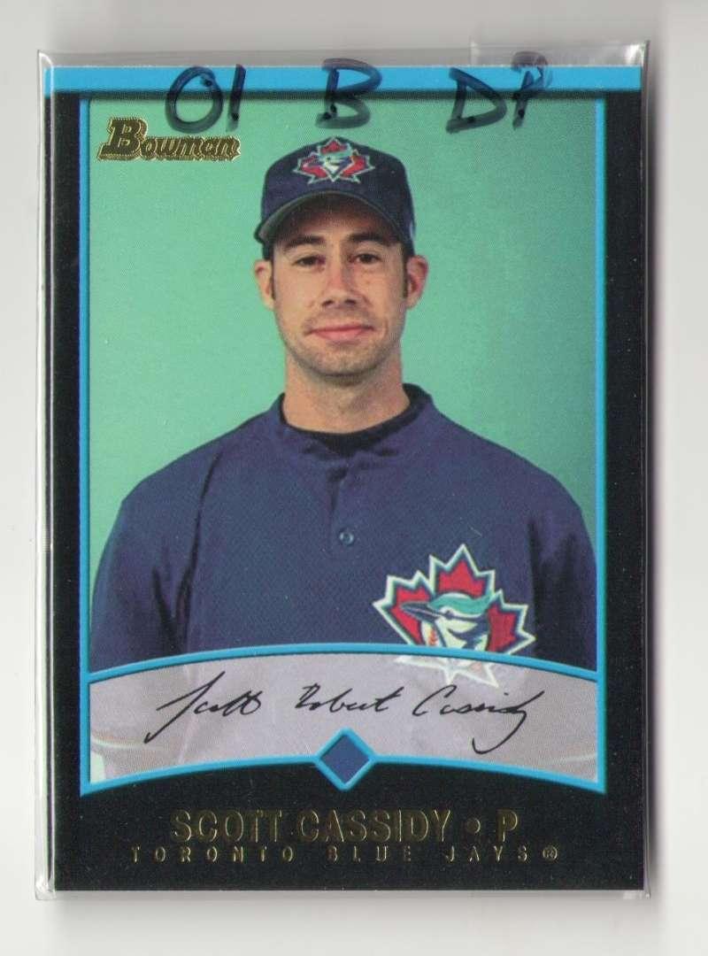 2001 Bowman Draft Picks and Prospects - TORONTO BLUE JAYS Team Set