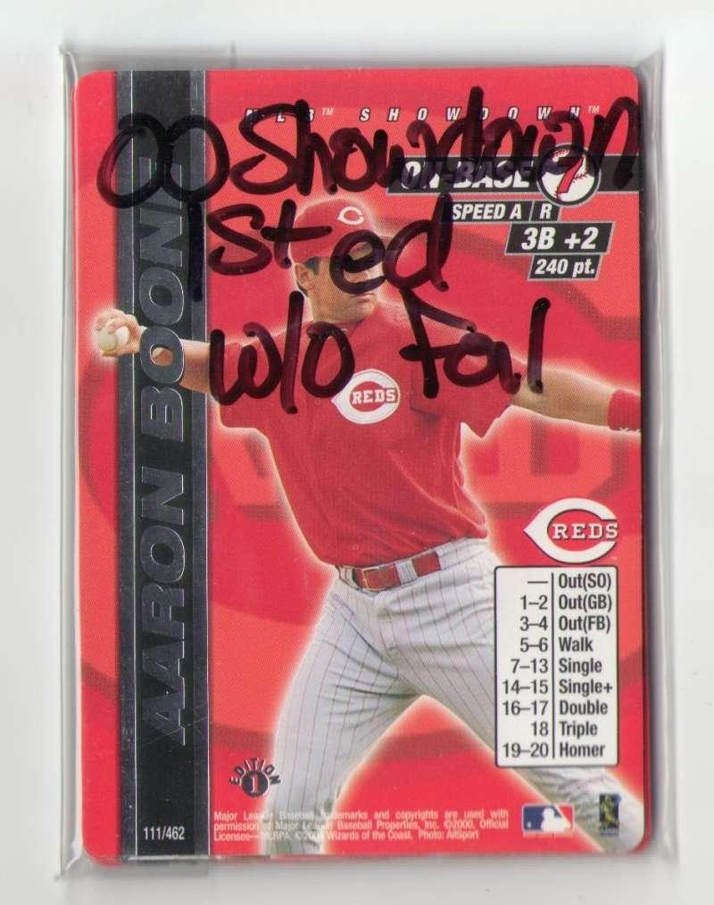 2000 MLB Showdown 1st Ed w/o Foils CINCINNATI REDS Team Set