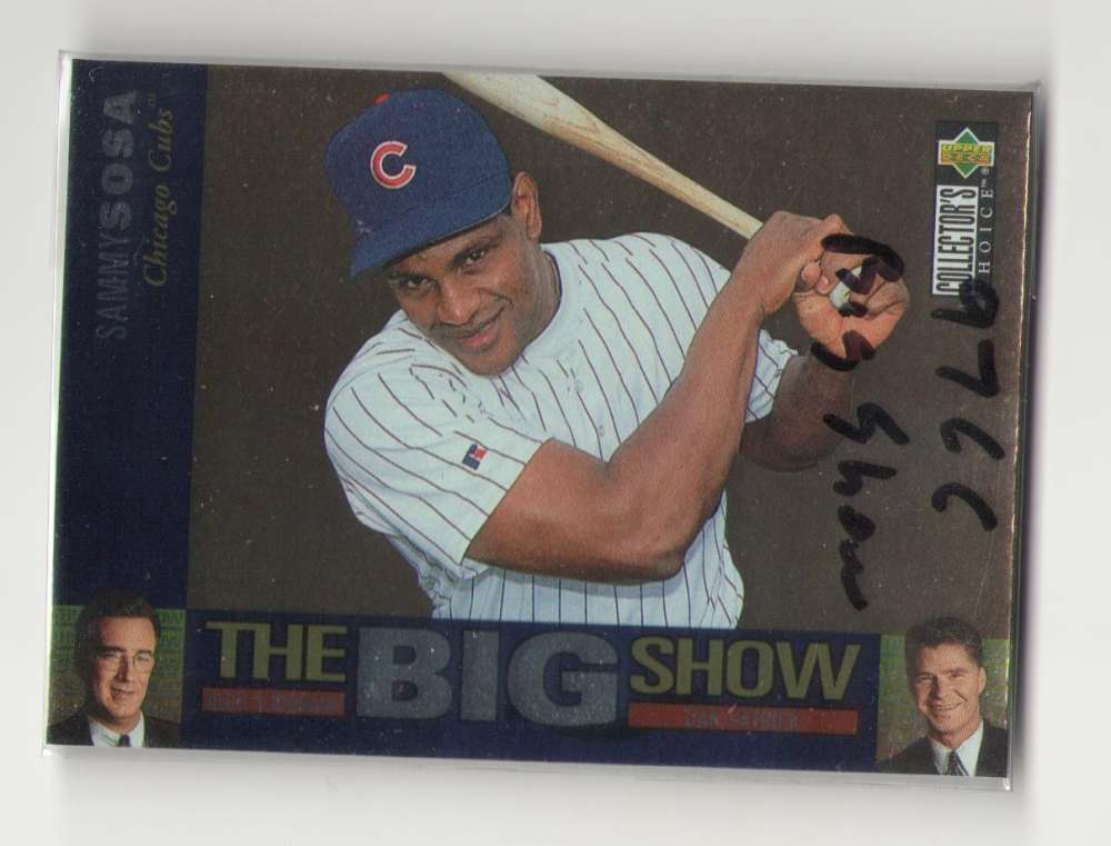 1997 Collectors Choice The Big Show - CHICAGO CUBS
