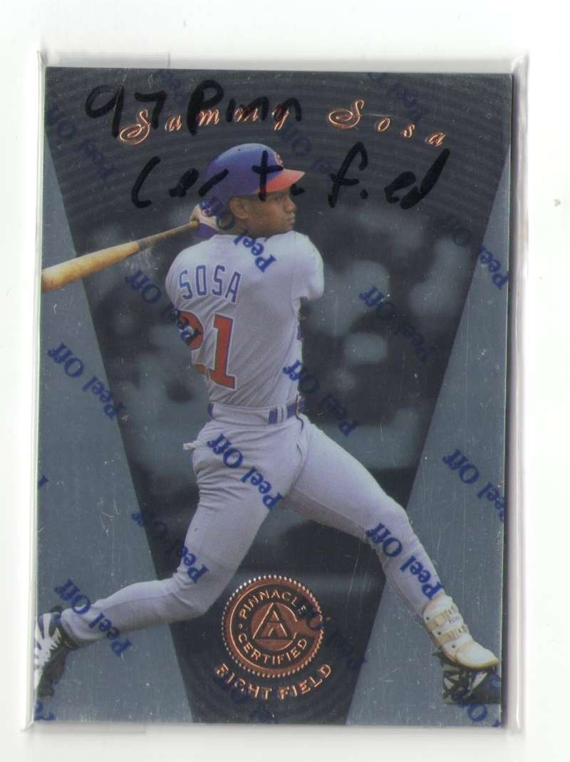 1997 Pinnacle Certified - CHICAGO CUBS Team Set
