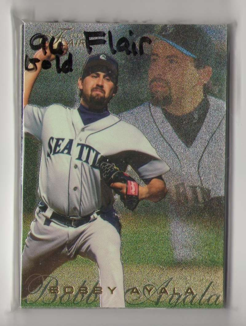 1996 FLAIR Gold Lettering - SEATTLE MARINERS Team Set