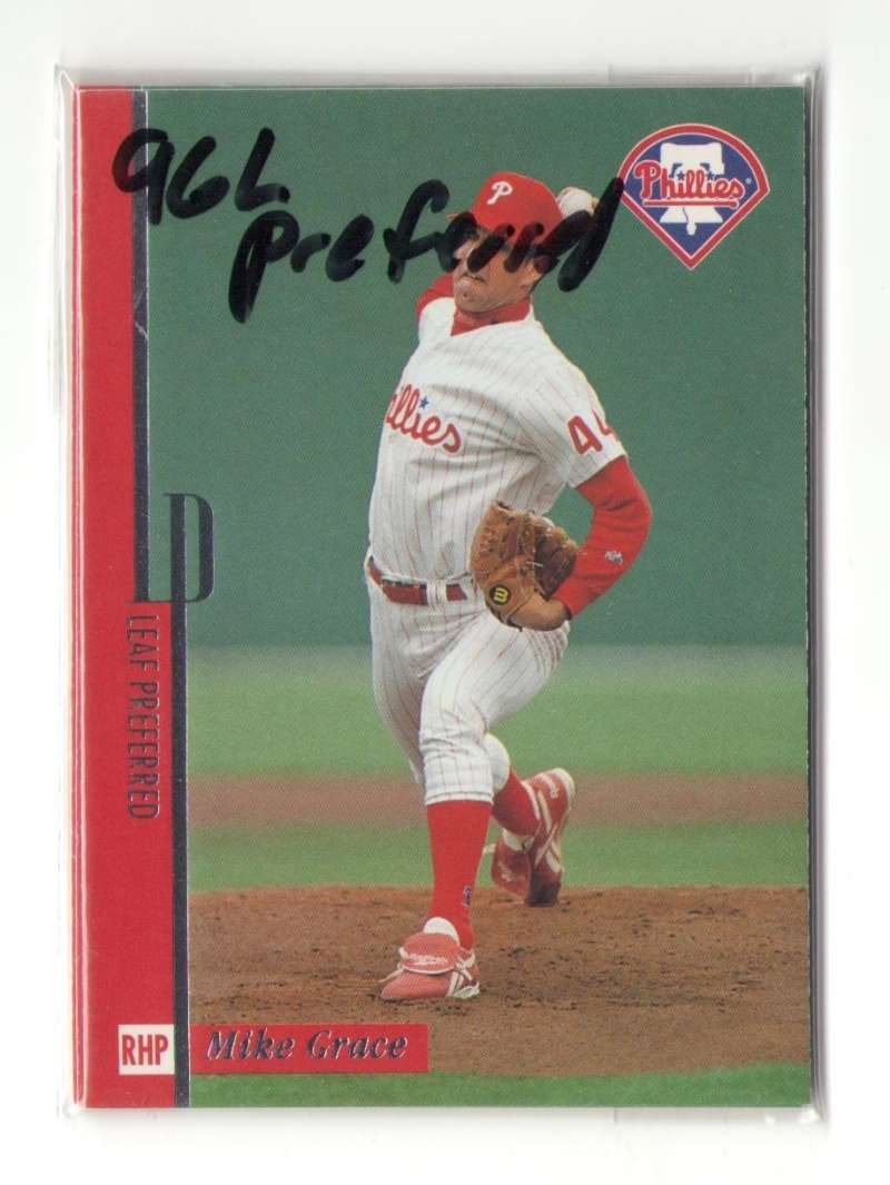 1996 LEAF PREFERRED - PHILADELPHIA PHILLIES Team Set
