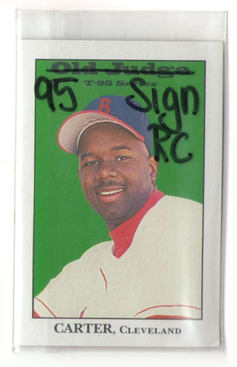 1995 Signature Rookies Old Judge - CLEVELAND INDIANS
