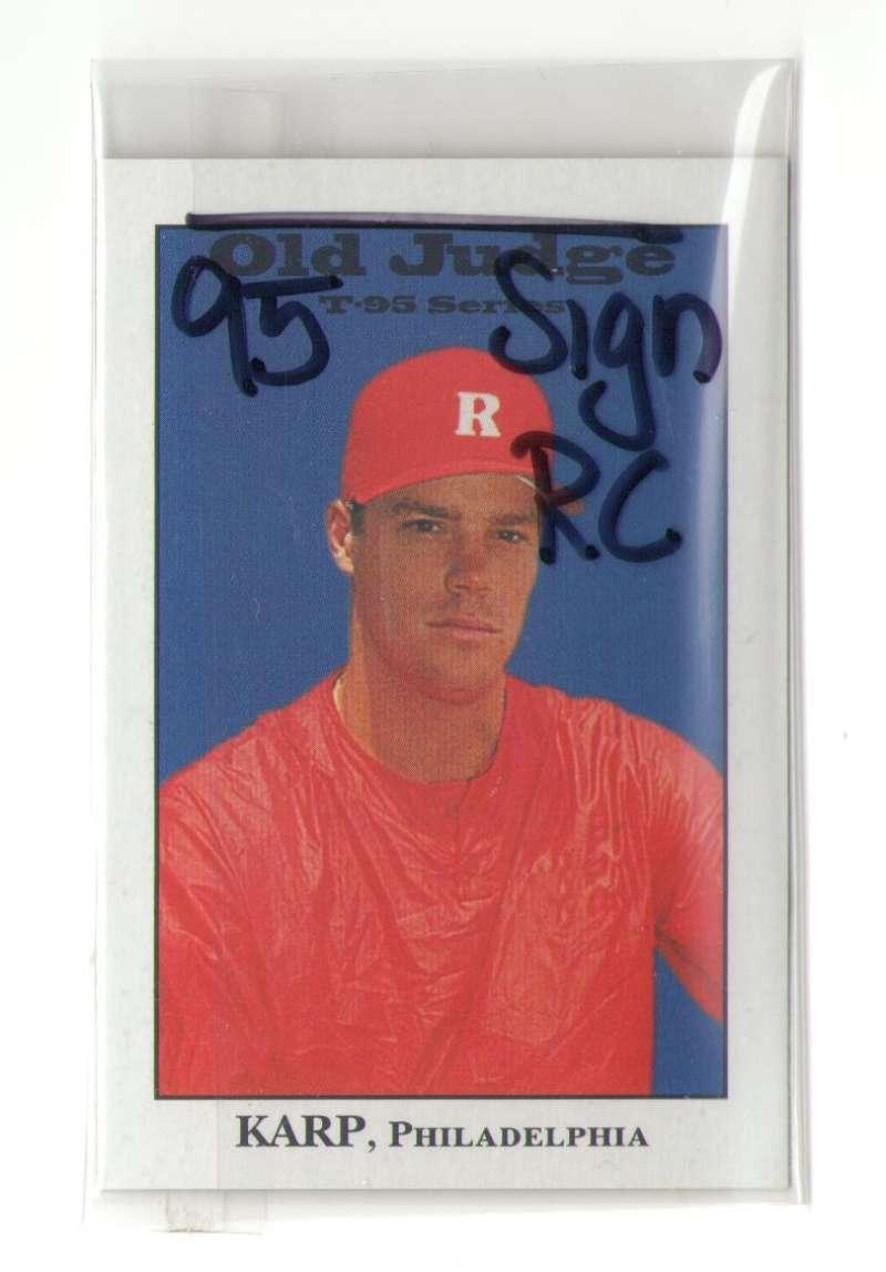 1995 Signature Rookies Old Judge - PHILADELPHIA PHILLIES