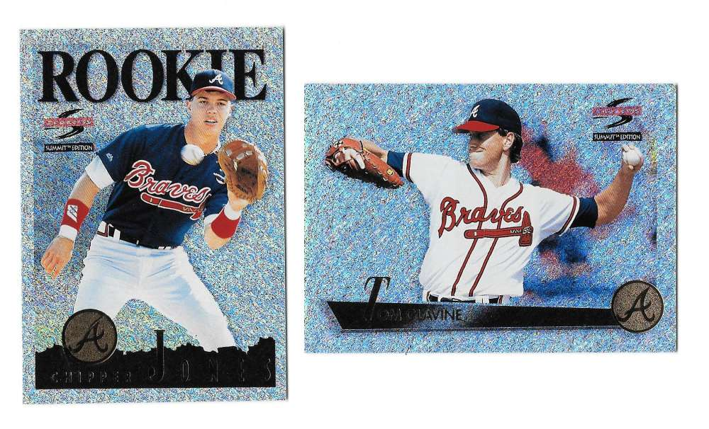 1995 Summit Nth Degree - ATLANTA BRAVES Team Set