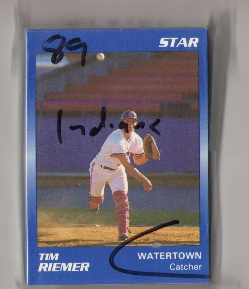 1989 Star Minor League Team Set - Watertown INDIANS (Blue)