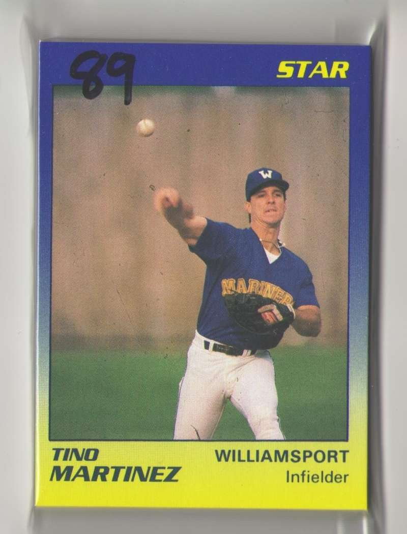 1989 Star Minor League Team Set - Williamsport Bills (Mariners)
