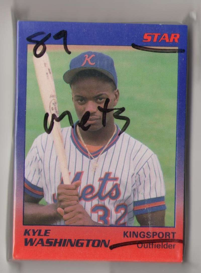 1989 Star Minor League Team Set - Kingsport METS (Blue/Orange)