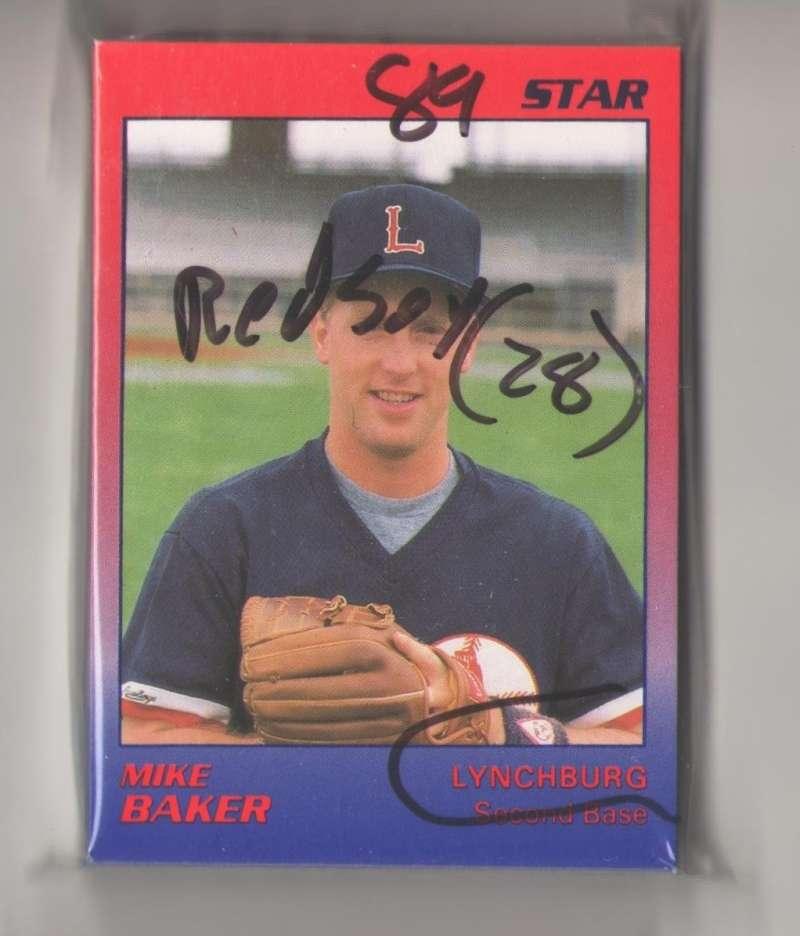 1989 Star Minor League Team Set - Lynchburg Red Sox (28)