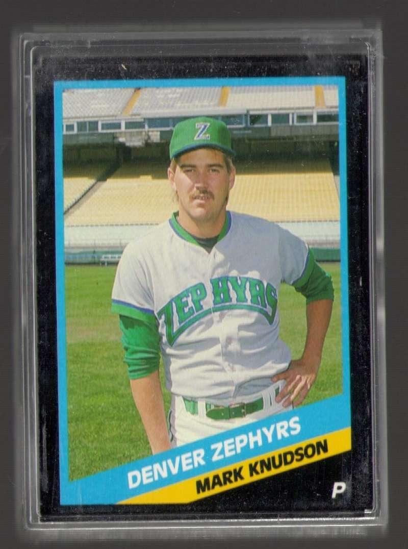 1988 CMC Minor League Team Set - Denver Zephyrs (Brewers)