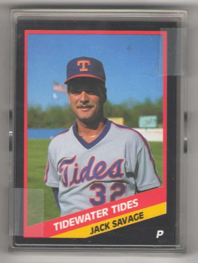 1988 CMC Minor League Team Set - Tidewater Tides (Mets)