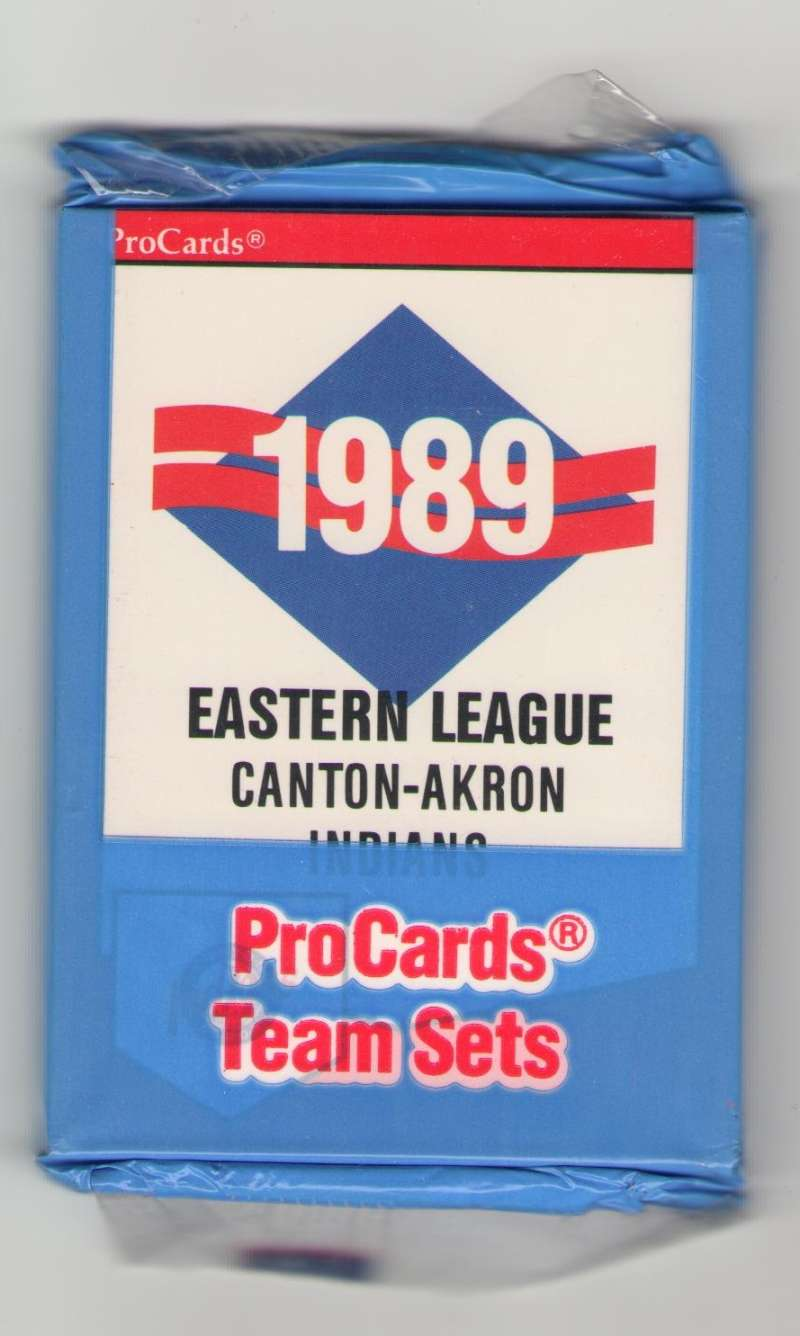1989 ProCards Minor League Team Set - Canton-Akron INDIANS