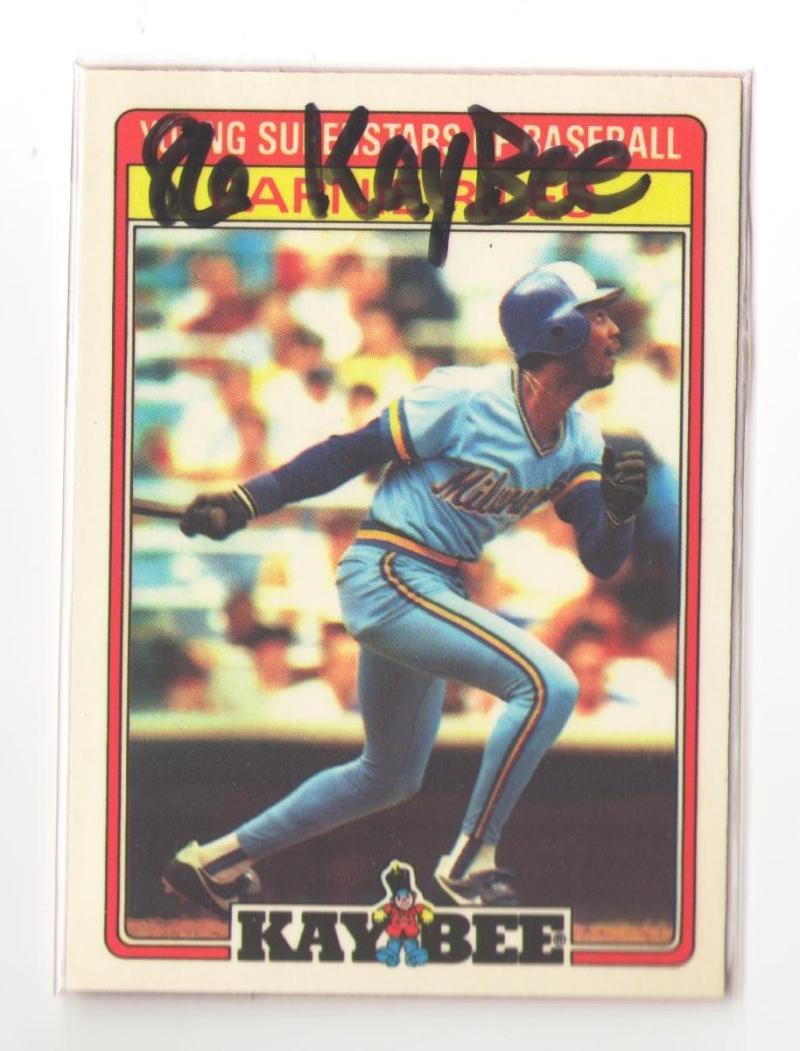 1986 Kay-Bee MILWAUKEE BREWERS Team Set