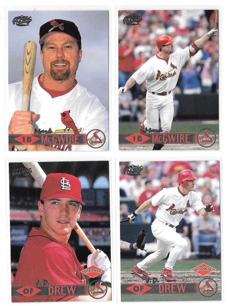 1999 Pacific - ST LOUIS CARDINALS Team Set