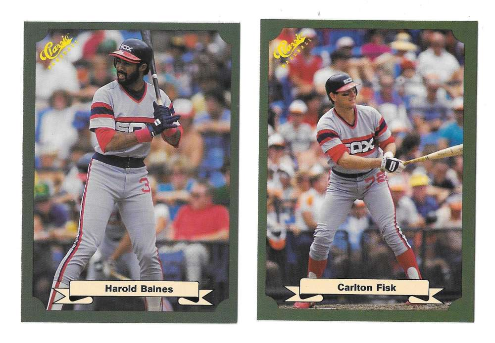 1987 Classic Game (Green) - CHICAGO WHITE SOX Team Set